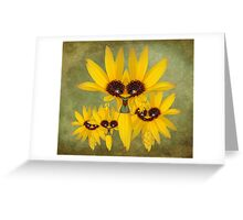 Mrs. Field Corn And The Kids Greeting Card