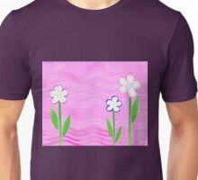 Freckled Flowers In The Garden Unisex T-Shirt