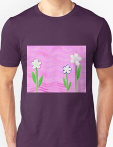 Freckled Flowers In The Garden T-Shirt