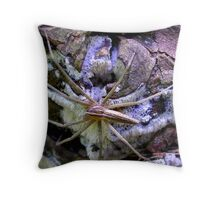 Spring Hunting Throw Pillow