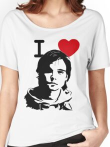 "I ""Heart"" Andrew Lee Potts Women's Relaxed Fit T-Shirt"
