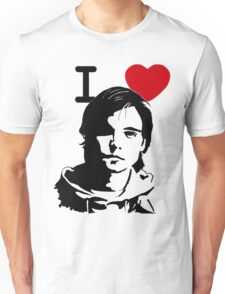 "I ""Heart"" Andrew Lee Potts Unisex T-Shirt"