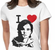 "I ""Heart"" Andrew Lee Potts Womens Fitted T-Shirt"