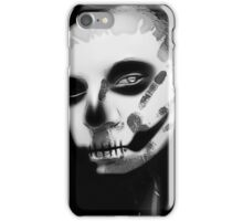 The Crow Black&White iPhone Case/Skin
