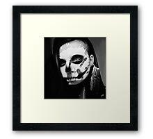 The Crow Black&White Framed Print