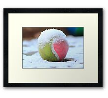 Winter Sports - Anyone for Tennis Framed Print