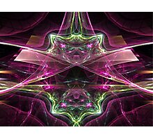 Reflections: Amethysts and Emeralds  (UF0178) Photographic Print