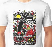 Red Black Yellow Unisex T-Shirt