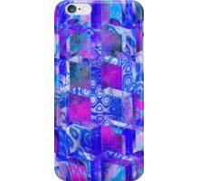 Vaporwave-3rd Dimension Pool Palette Seamless Pattern iPhone Case/Skin