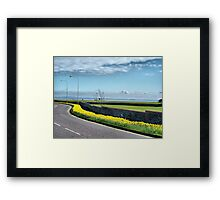 Coastal Road. Framed Print