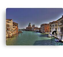 Canal Grande - View from Accademia Bridge - Venice Canvas Print
