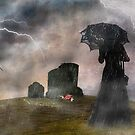 Cemetery woman by Tizme