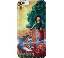 Leonetto Cappiello Affiche Charrue Huard iPhone Case/Skin