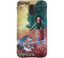 Leonetto Cappiello Affiche Charrue Huard Samsung Galaxy Case/Skin