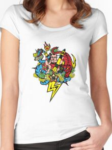 Bad Boy Dan Women's Fitted Scoop T-Shirt