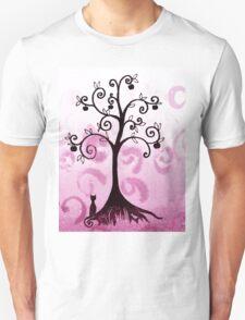 Whimsical Apple Tree Unisex T-Shirt