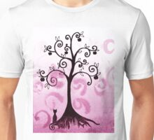 Whimsical Apple Tree Unisex T-Shirt