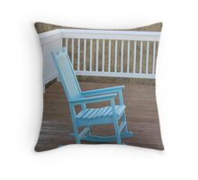 Lonely rocker Throw Pillow
