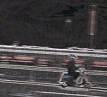 Go Faster Stripes... by BevsDigitalArt