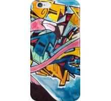 Chilean Flamingo Graffiti  iPhone Case/Skin