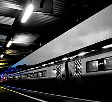The Train to Colour by Melissa Blowers