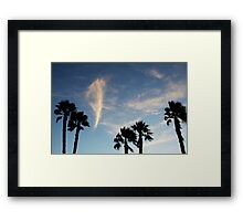 The Spirit of Waves Framed Print
