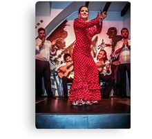 The Joy of Flamenco Canvas Print