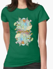 Puffer Puffing On A Water Pipe Womens Fitted T-Shirt