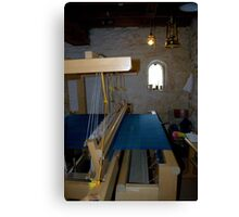The Flax Mill..The Loom Canvas Print