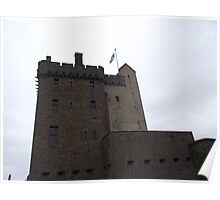 Castle at Broughty Ferry Poster