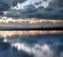 Lonely, Crosby Beach by Ian Moran