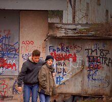 Children of Sarajevo - Sarajevo Bosnia by bengranlund