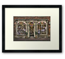 old shop Framed Print