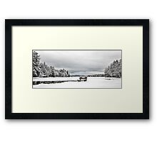 Open Water - Highland Lake Framed Print