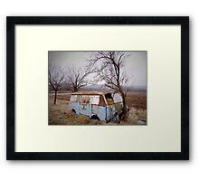 Abandoned Van - Serbia Framed Print