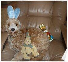 Happy Easter From Buddy Poster