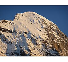 Top of the Eiger Photographic Print