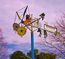 Whirlygig at Fearrington Village by DBGuinn