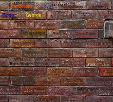 Writing on the Wall by Peter Elliott