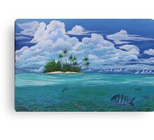 lonely tropica Canvas Print