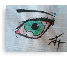 Spotted Eye Canvas Print