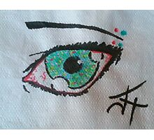 Spotted Eye Photographic Print