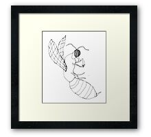 killer bee Framed Print