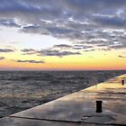 Lake Michigan Sunrise by sternbergimages
