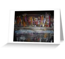 City Downtown Greeting Card