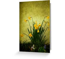 The Spring Collection Greeting Card
