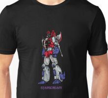 Starscream With Title Unisex T-Shirt