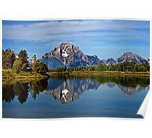 Oxbow Bend at Grand Teton Poster
