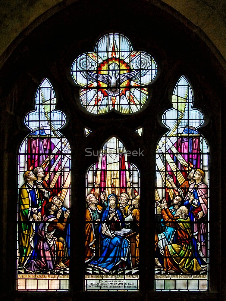 The Church of St Michael ~ Beer, Devon by Susie Peek