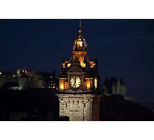 Balmoral Tower Photographic Print